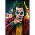 Алмазная 5D картина «Джокер», картина с полными квадратными/круглыми стразами, вышивка крестиком, клоун, домашний декор, подарок WG2029