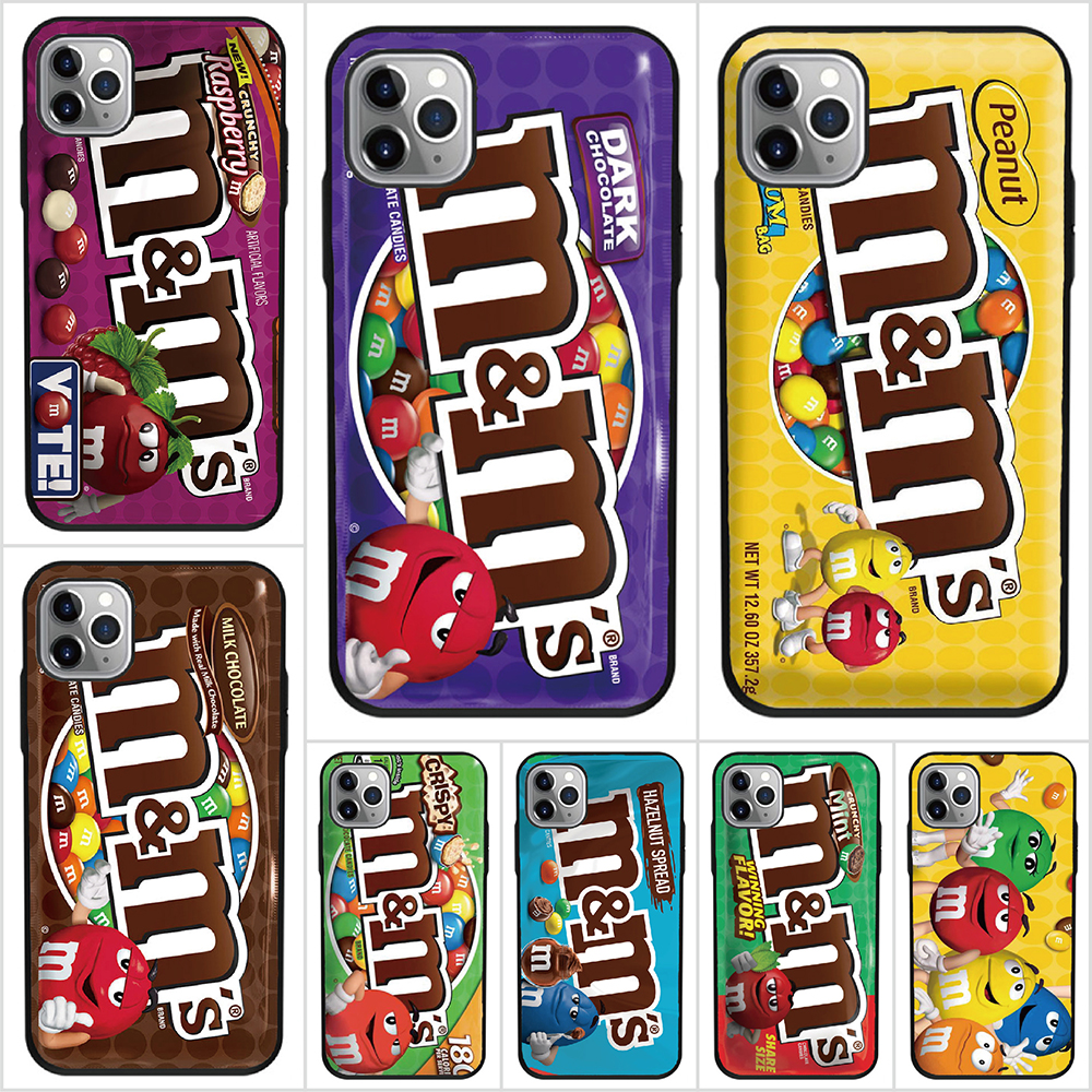 For Blackberry KEYone / DTEK 70 / KEY2 / Key2 Lite / Q20 / Q10 Soft Tpu Case M&Ms Chocolate Cover Shell Phone Cases(China)