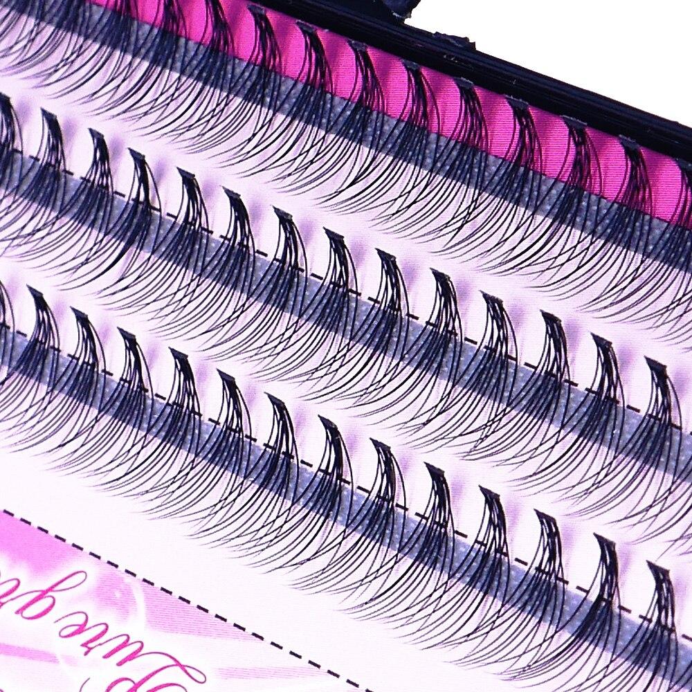 Natural False Eyelashes 1 Box 60 Clusters Eyelash Extension, Professional Makeup Personal Eyelash Free Shipping