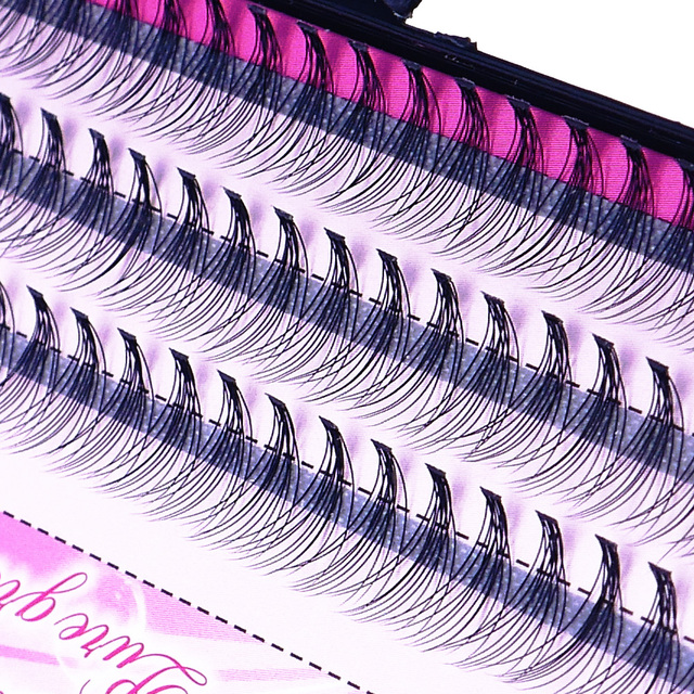 Natural False Eyelashes 1 Box 60 Clusters Eyelash Extension, Professional Makeup Personal Eyelash Free Shipping