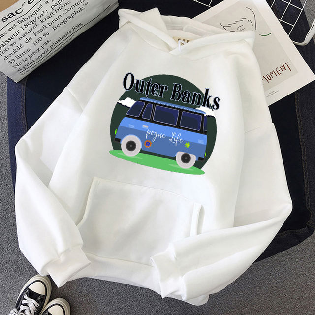 OUTER BANKS POGUE FOR LIFE THEMED HOODIE (24 VARIAN)