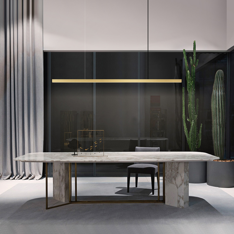 Modern LED Pendant Lights Brass LED Ceiling Suspended Pendant Light Lamp For Hall Kitchen Living Room Bedroom