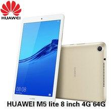 HUAWEI Mediapad-Tableta M5 lite, pantalla de 8,0 pulgadas, LTE, Android 9, Hisilicon, Kirin 710, ocho núcleos, cámara Dual, batería de 5100mAh, rom oficial