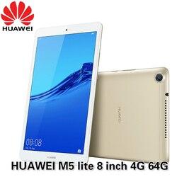 Планшет HUAWEI Mediapad M5 lite, 8,0 дюйма, LTE, Android 9, Hisilicon, Kirin 710, Восьмиядерный процессор, двойная камера, аккумулятор 5100 мАч, официальная ПЗУ