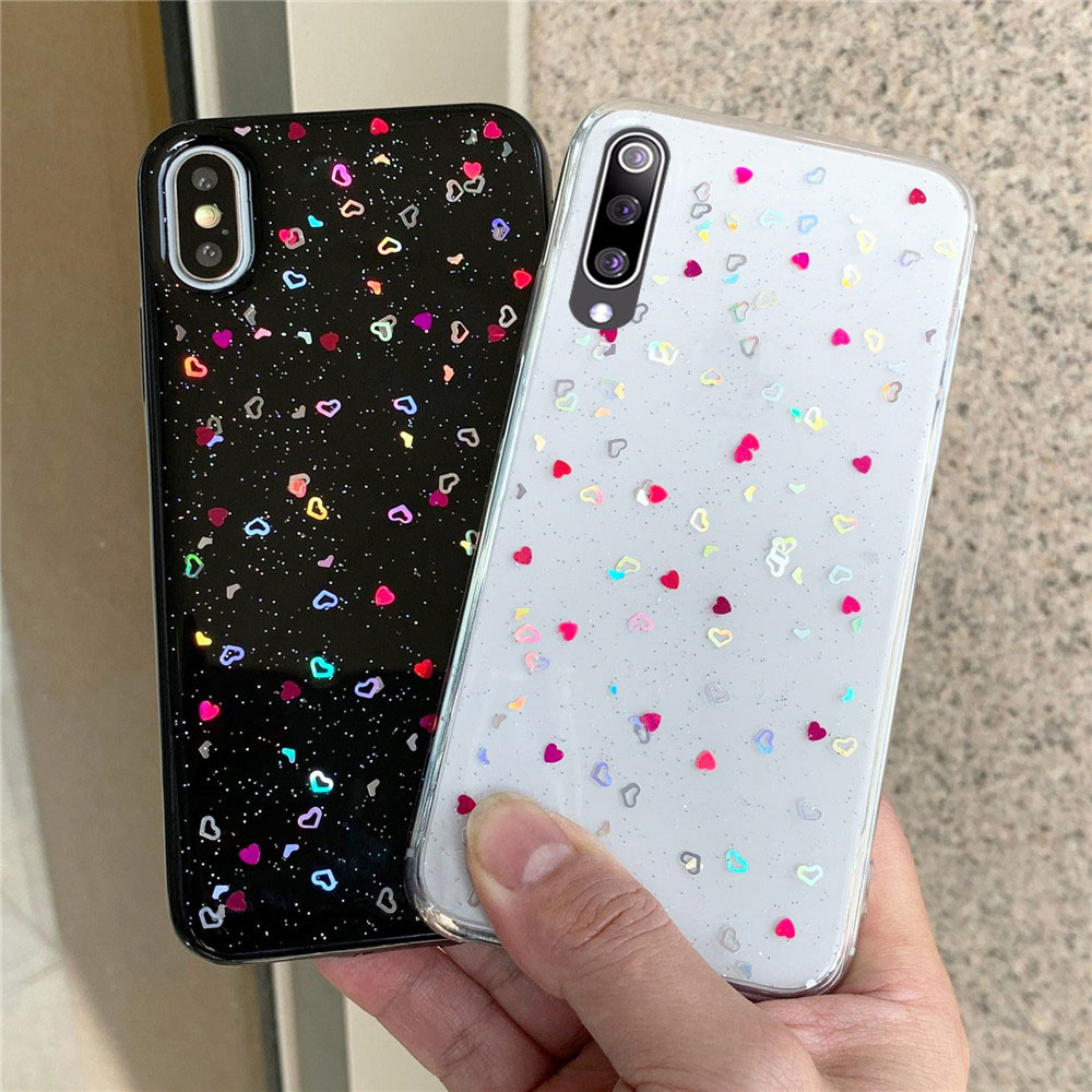 For Xiaomi Mi A3 Lite Case Mi 9 Cute Small Love Cover For Xiomi Xiaomi Mi 9 Lite SE Mi9 9T Pro Note 10 CC9 Pro CC9E Case
