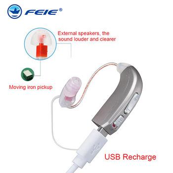 MY-33 cyfrowy aparat słuchowy akumulator 2 kanał BTE aparaty słuchowe 110db aparaty słuchowe wzmacniacz dźwięku profesjonalny aparat słuchowy tanie i dobre opinie FEIE Chin kontynentalnych Digital Rechargeable amplifier USB rechargeable charger digital circuit clear sound high power low bettery consumption