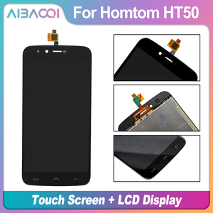 Image 2 - AiBaoQi 100% warranty 5.5 inch Touch Screen + 1280X720 LCD Display Assembly Replacement For Homtom HT50