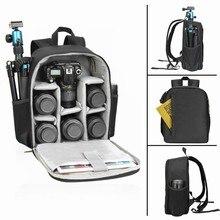 CADeN Photo Camera Shoulder Bag DSLR Soft Men Women Bag for Canon Nikon Sony SLR Camera Backpack Bag Case Waterproof