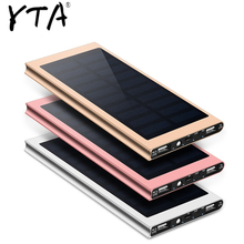 For Xiaomi Smartphone iPhone 8 XS Max Solar Power Bank Water