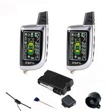 Spy two way LCD remote control keyless system car alarm