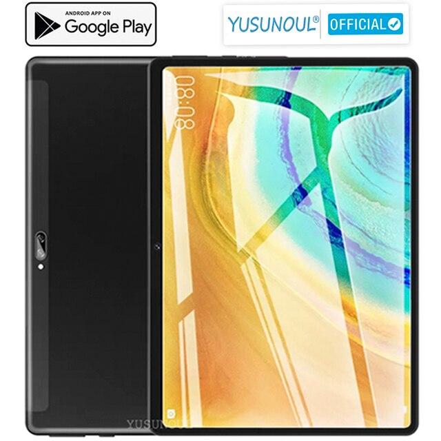 Глобальная версия 2021 продаж 10 дюймов Android 9,0 планшетный ПК двойной камеры заднего пикселей 5.0MP 32 Гб Встроенная память 1280*800 Разрешение планше...