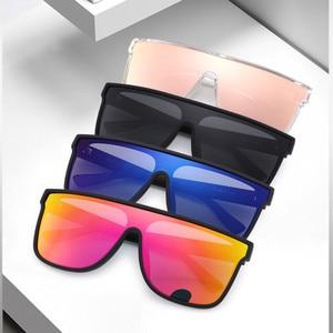 Image 2 - FENCHI NEUE Sonnenbrille Frauen Männer Schwarz Driving Windschutz Übergroßen Weiblichen Sonnenbrille Brille Zonnebril Dames Oculos Feminino