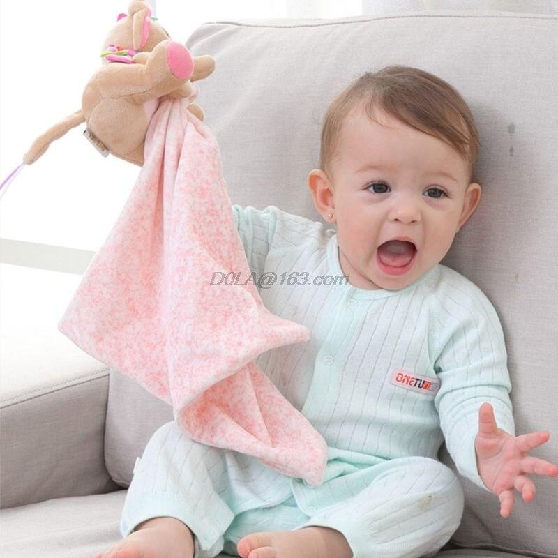 Recém-nascido apaziguar toalha cobertor consolador crianças apaziguar