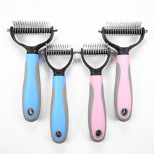 Pet Grooming Kit Longhair Dog Comb Prevent Pet Hair From Kinking Labrador Golden Retriever Dog Grooming Pet Hair Remover Brush
