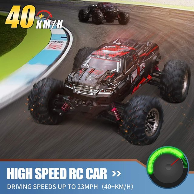 RC Car 40KM/H High Speed Racing Remote Control Car Truck for Adults 4WD Off Road Monster Trucks Climbing Vehicle Christmas Gift 4