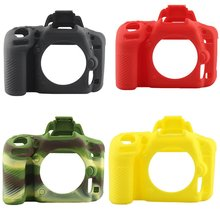 Camera case non-slip wear-resistant comfortable portable durable For Nikon D850 big single Silicone Case