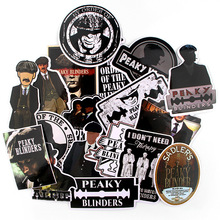 18pcs/lot Peaky Creative Sticker for Paper Album Notebook Adhesive Tape Car Luggage Diy Decoration Graffiti Stickers AT1877