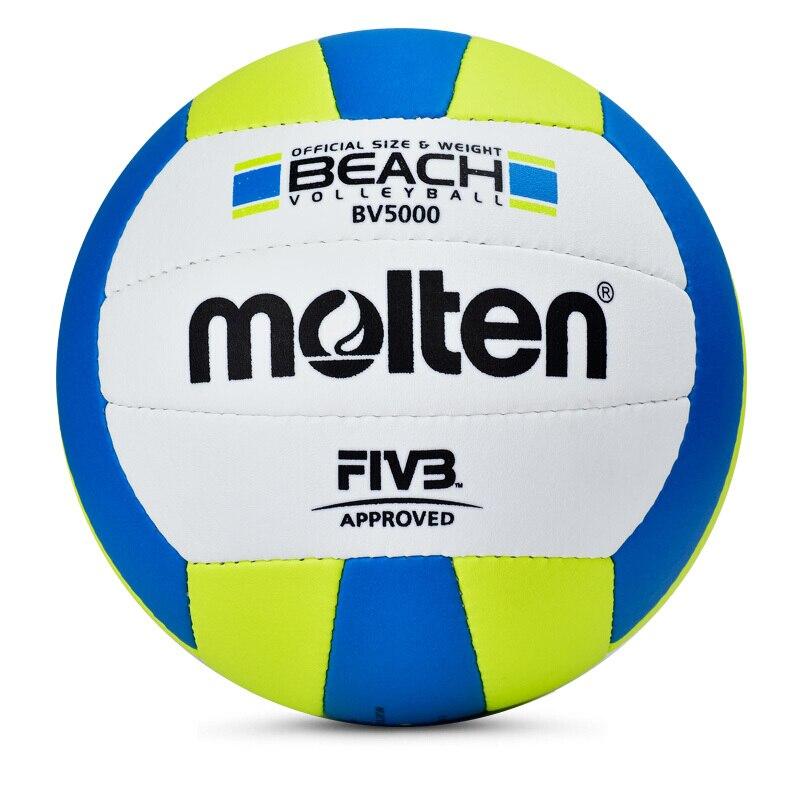 Molten Volleyball Ball Bv5000 Beach Voleibol Games PU Material Size 5 Training Woman Volley Pallavolo Official Bola De Volei