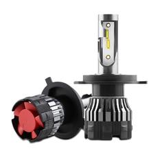 PAMPSEE 16000LM H4 H1 H11 H7 LED Canbus hiçbir hata araba kafa lambası ampulleri 100W 6000K 4300K 8000K 9005 9006 H8 otomatik sis farları 24V Z7
