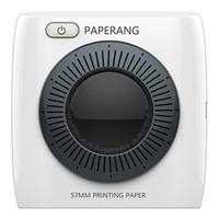 PAPERANG P2 Portable Mini Printer thermal Bluetooth printer Wireless Thermal Picture Photo Phone Connection 300 DPI 1000mAh Ba