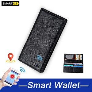 Мужские бумажники Smart LB, дизайнерский клатч из натуральной кожи, кошелек для мужчин, длинный Карманный Кошелек, Обложка для паспорта для муж...