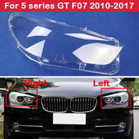 Transparent Car F07 Headlight Cover Lamp Shade Headlamp Lens Glass Shell For BMW 5 series GT F07 2010 2017 535i 530i 525i 520i