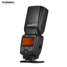 YONGNUO YN600EX RT II TTL Master Flash Speedlite для камеры Canon 2,4G беспроводная 1/8000s HSS GN60 Поддержка автоматического/ручного масштабирования