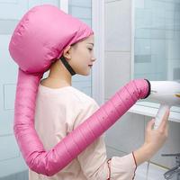 Zweite generation Tragbare Weichen Haar Dauerwelle Trockner Pflege Kappe Heizung Warme Luft Trocknen Behandlung Caps Frauen Hause Friseur Werkzeug