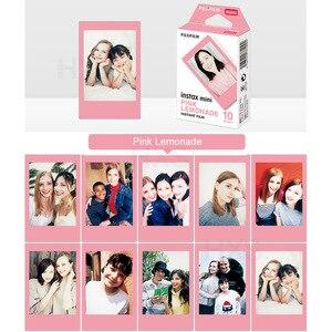 Image 4 - フイルムインスタックスミニ 9 フィルム旅行ピンクギフトパッケージフジインスタント写真のカメラミニフィルムカメラ 9 8 7s 7c 70 90 25 ハローキティSP 1 SP 2