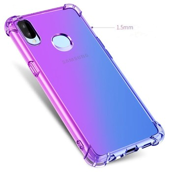 Fashion Gradient Colorful Phone Case For Samsung A10 A20 A30 A40 A50 A60 A70 A80 A90 A2 Core A6 A8 A7 A9 S E Star Soft TPU Cover 2