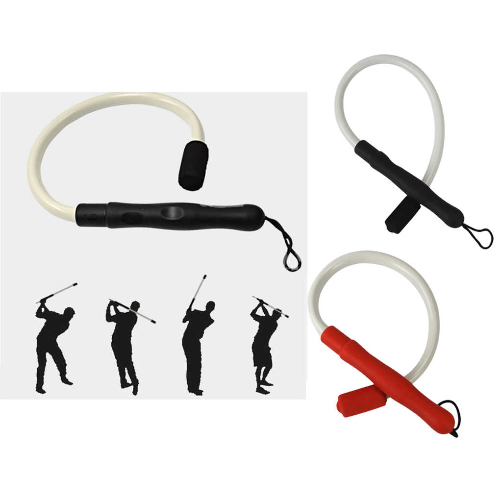 Golf Swing Trainer Training Aids And Tempo Practice Warm-Up Tool For Indoor Outdoor