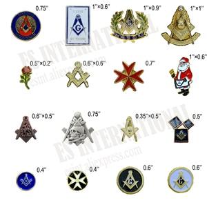 Masonic Lapel Pins Metal Badge Mason Freemason