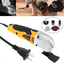 Electric Trimming 280W 220V 6-speed Hand-held LED Oscillating Machine Cutting Tool for Woodworking / Plishing / Trepanning