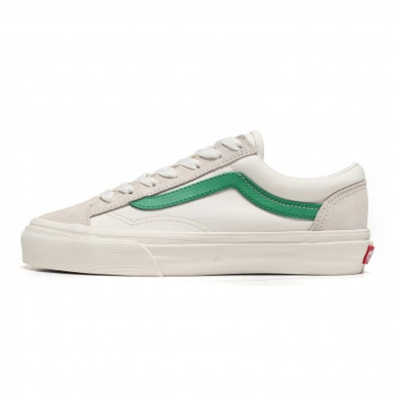 Vans Vault Og Style 36 Men and Women Shoes Marshmallow Jolly Green Classic White Shoes Outdoor Street Wind 2019 New VN0A3DZ3RFX