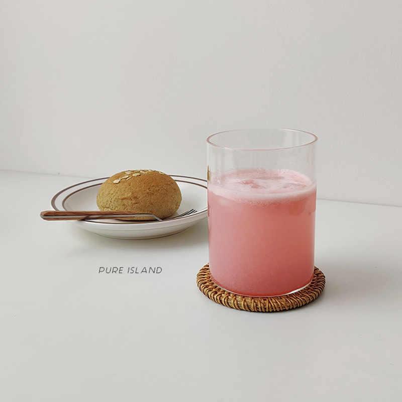 플레이스 매트 패드 컵 받침 주방 테이블 매트 등나무 코스터 보울 매트 패딩 매트 절연 패드 라운드 플레이스 매트 수제