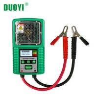 Duoyi DY226A 3 in 1 Batteria Auto Tester di Trazione 6V 12V Dc Auto di Carico di Potenza di Partenza Carica Cca test di Batteria Strumento di Misura