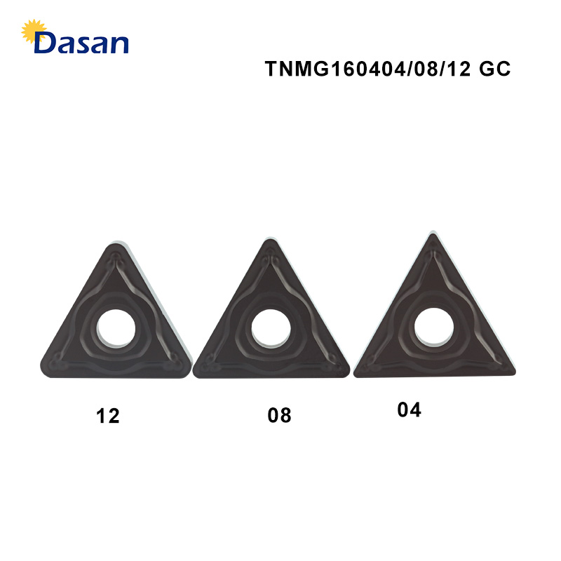 10PCS TNMG160412 GC Solid Carbide Inserts TNMG120404 Turning Tool Knife Blades Cutting CNC Tools Lathe Cutter For Steel Quenched