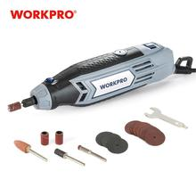 Workpro 220vミニドリルニードルドリルビットと研削工具アクセサリー多機能ミニ彫刻グラインダー