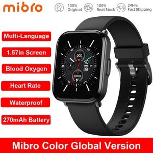 Image 1 - コネクテッドスポーツウォッチ,男性用心拍数と血圧モニター,防水,AndroidおよびiOS用