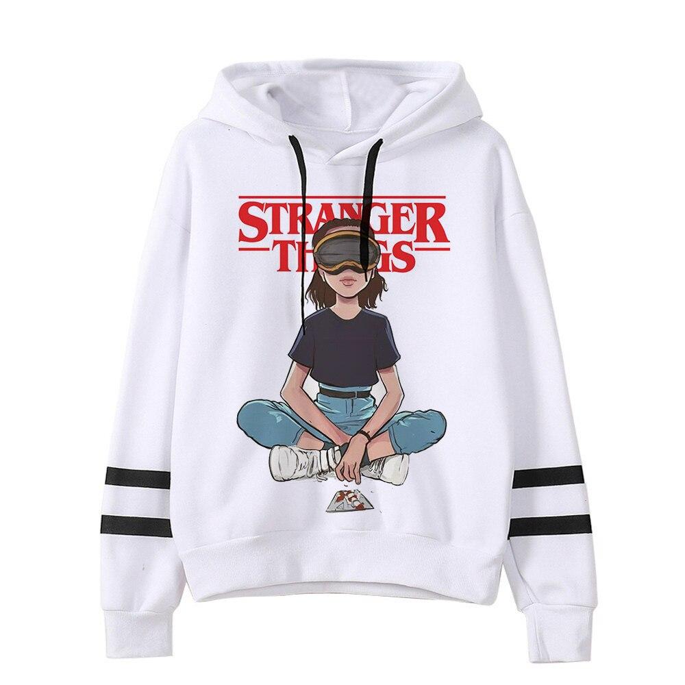 Stranger Things Season 3 Casual Sweatshirt Men Women Hoodie Pullover Jacket Coat