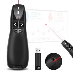 Image 5 - Doosl נטענת אלחוטי אוויר עכבר מגיש, 2.4GHz PPT מצגת אלחוטי שלט רחוק Clicker עבור רב התקני מדיה