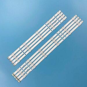Image 1 - Yeni 8 adet/takım LED arka ışık şeridi Samsung UE46H5373 UE46H6203 UN46FH6030F D3GE 460SMA R2 D3GE 460SMB R1 2013SVS46 3228N1