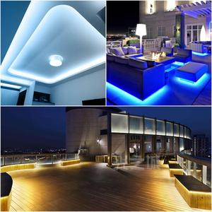 Image 5 - LED TV 백라이트 빛에 대 한 220v LED 램프 유연한 1M 20M 2835 SMD LED 스트립 빛 부엌 홈 장식 TV 배경 조명