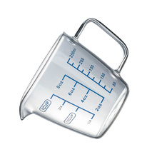 Measuring-Cup Glass Kitchen 250ml for Restaurant Heat-Resistant High-Borosilicate