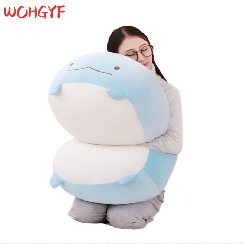 30/60cm Giant Corner Bio Pillow Japanese Animation Sumikko Gurashi Plush Toy Stuffed Soft Cartoon Kids Girls Valentine Gifts