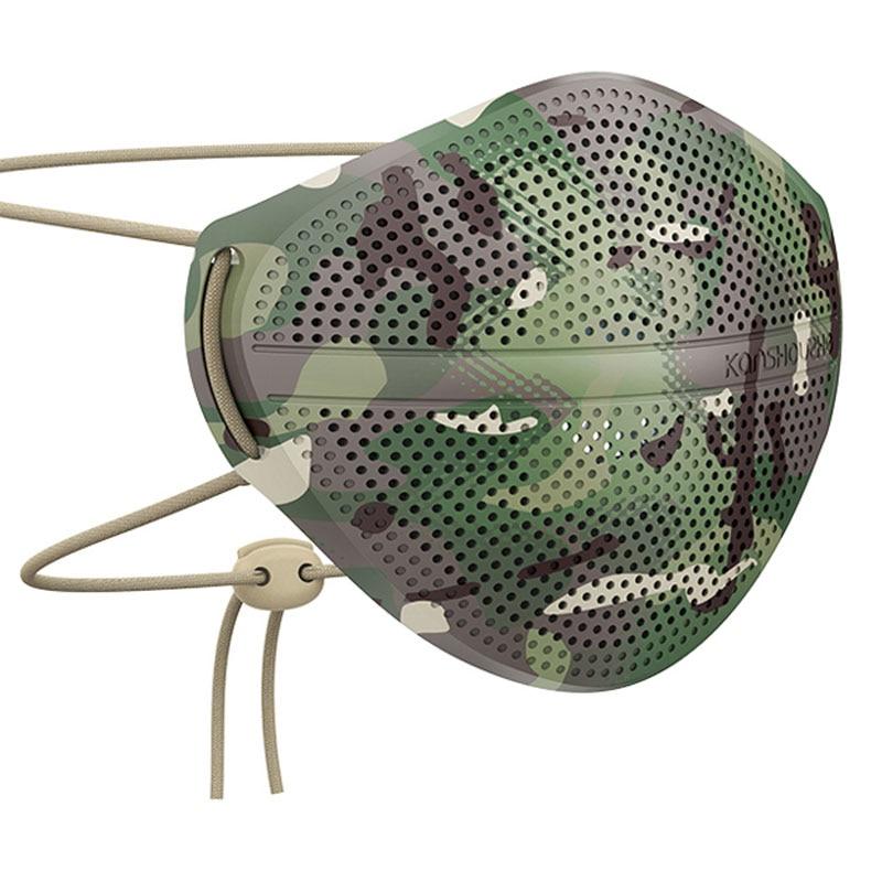 PM2.5 Bacteria-proof Mouth Face Mask Dust Proof Washable Masks Unisex Mouth Muffle Splash Anti-haze Breathable Mask