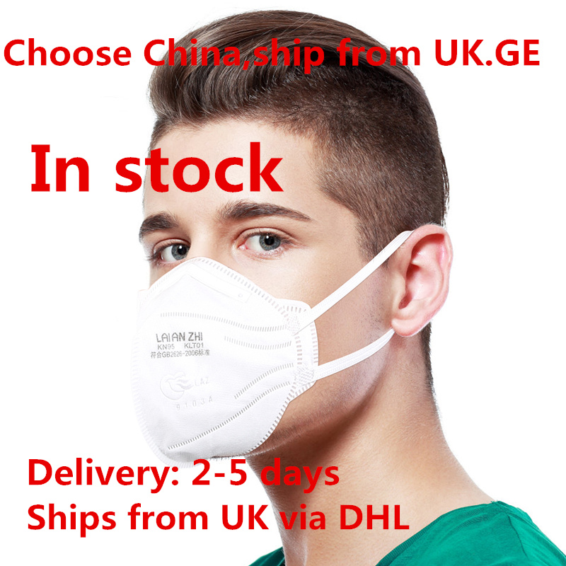 50PCS Reusable N95 Protection Mask Anti-virus Anti-Flu KN95 Ear Loop Mouth Mask  Germay UK In Stock