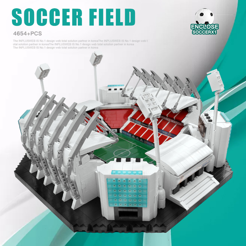 Yeshin Compatible With 10202 Old Trafford – Manchester United Soccer Field Model