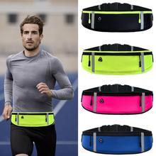 Waterproof Running Waist Bag Canvas Sports Jogging Portable