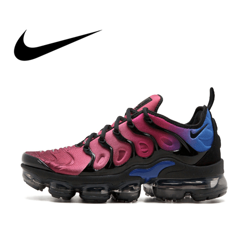 NIKE AIR VAPORMAX PLUS Men's Breathable Running Shoes Sport Sneakers Top Quality Athletic Designer Footwear 2019 New AO4550-001